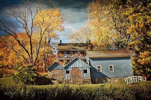 Autumn Smokehouse by Fran J Scott