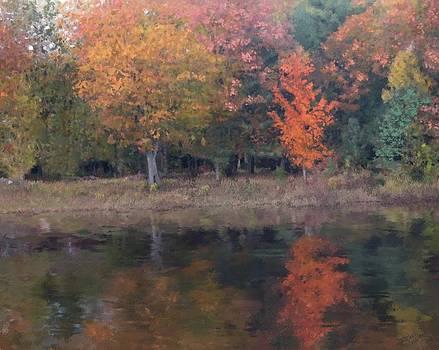 Autumn splendor by Michael Malicoat