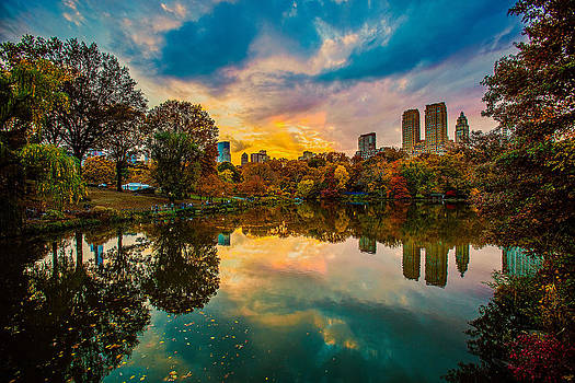 Chris Lord - Autumn Sunset From Bow Bridge