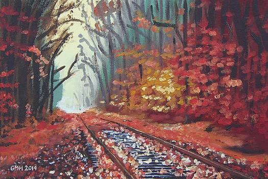 Autumn Tracks by Glenn Harden