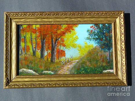 Autumn Trail-Original by Jody Curran