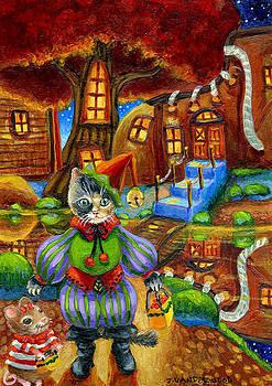 Autumn Treats at Glory Pond by Jacquelin Vanderwood