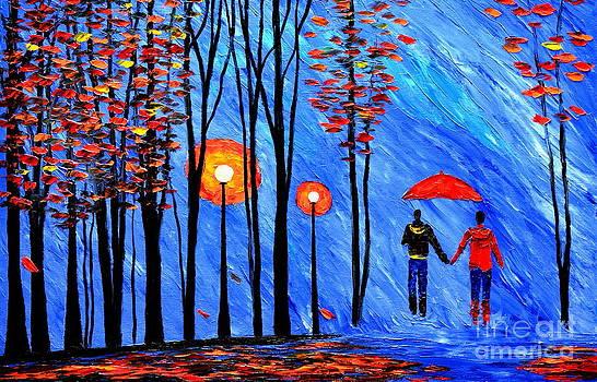 Autumn walk by Mariana Stauffer