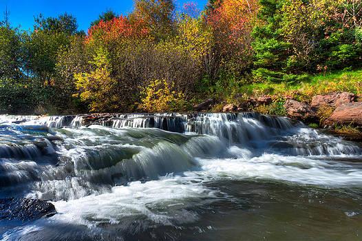 Matt Dobson - Autumn Waterfall