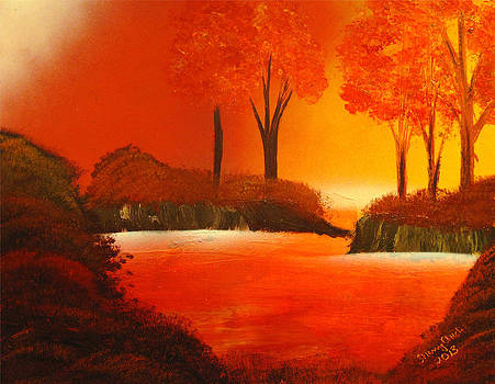 Autumn Waters by Sherry Chick