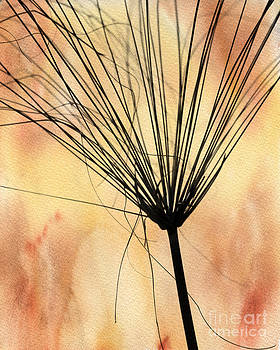 Sabrina L Ryan - Autumn Weed Silhouette