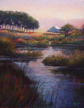 Autumn Wetlands by Vicky Russell