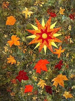 Autumn's Dance by Maureen Wartski
