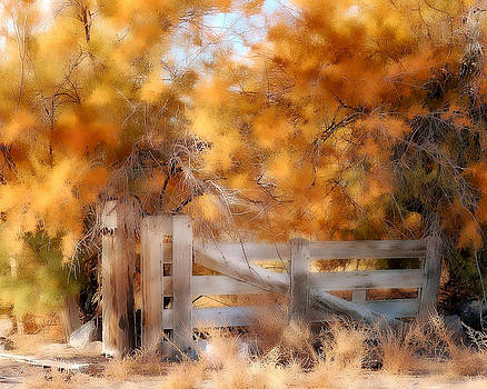 Autumns Gate by Marcie  Adams