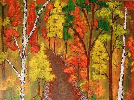 Autumn's splendor by Amy LeVine