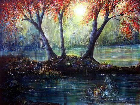 Autumn's Welcome by Ann Marie Bone