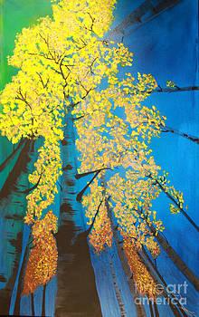Autumns Yellow by Dana Kern