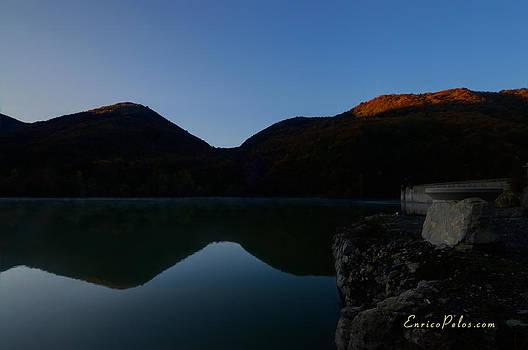 Enrico Pelos - AUTUNNO Alba sul lago - AUTUMN Lake dawn 9568
