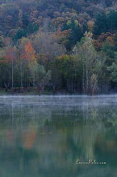 Enrico Pelos - AUTUNNO Alba sul lago - AUTUMN Lake dawn 9615