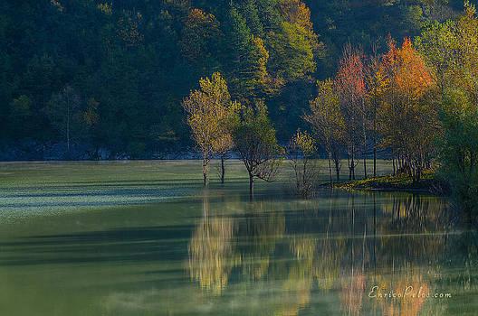 Enrico Pelos - AUTUNNO Alba sul lago - AUTUMN Lake dawn 9674