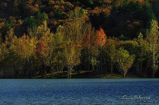 Enrico Pelos - AUTUNNO Alba sul lago - AUTUMN Lake dawn 9897