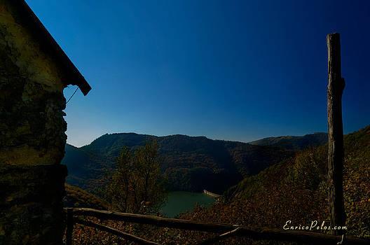 Enrico Pelos - AUTUNNO Vista sul lago - AUTUMN Lake view 9791