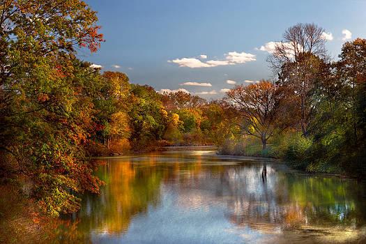 Mike Savad - Autumn - Hillsborough NJ - Painted by nature