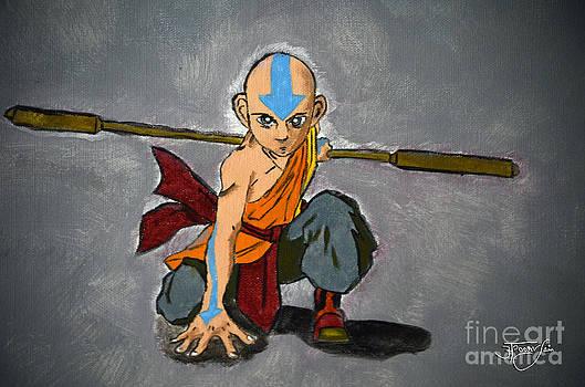 Avatar Aang - Airbender by Apoorv Jain