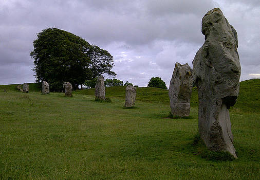 Avebury Stones by Derek Sherwin