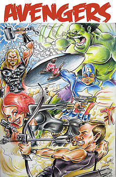Avengers by Big Mike Roate