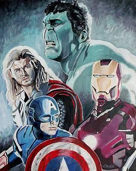 Jeremy Moore - Avengers