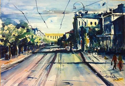 Avenue in Gothenburg  by David Obi