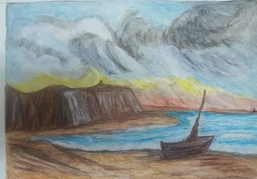 Avoiding the Storm by Iris Devadason