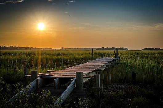 Awaiting Sunset by Richard Kook