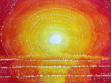 Awakening original painting by Sol Luckman