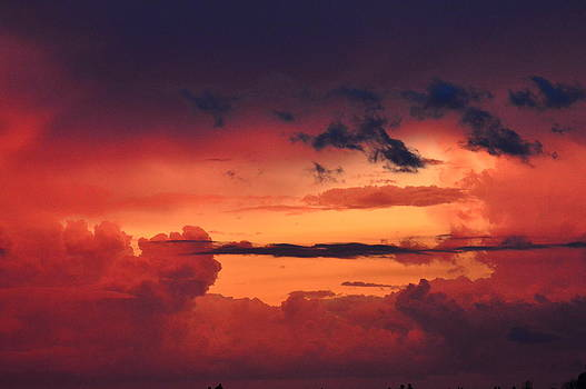 Awesome clouds by Duane King