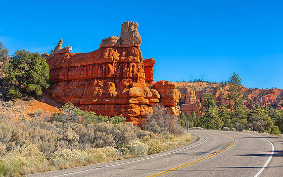 Awesome Red Canyon by John M Bailey