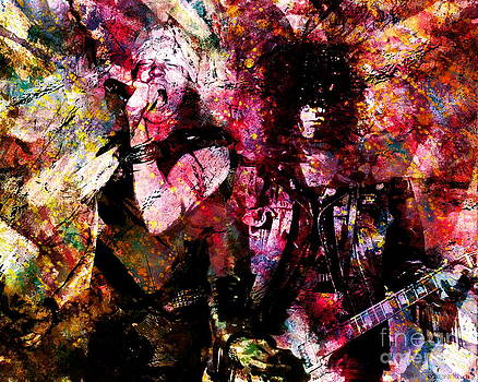Axl and  Slash by David Plastik