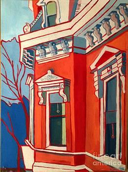 Ayer Manse Franco American School by Debra Bretton Robinson