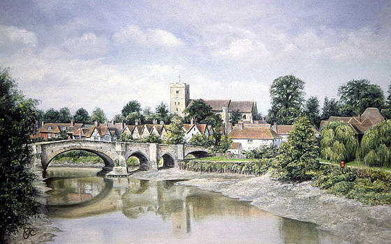Aylesford Bridge by Rosemary Colyer