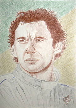 Ayrton Senna by Cybele Chaves