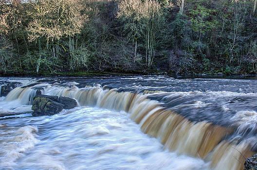 Aysgarth Falls by Glenn Hewitt