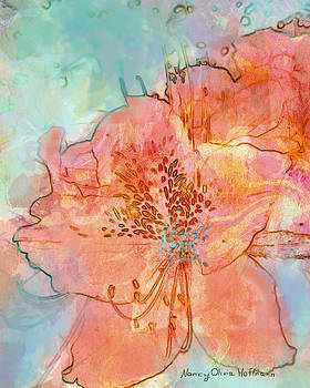 Azalea Glow by Nancy Olivia Hoffmann