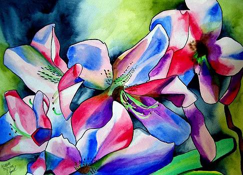 Azaleas by Sacha Grossel
