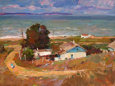 Azov coast by Aleksander Kryushyn