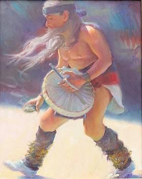 Aztec Sun Dancer by Ernest Principato