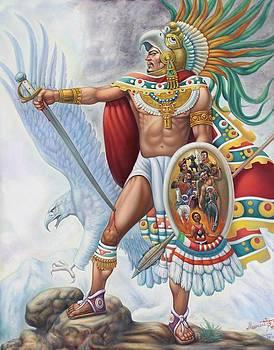 Aztec Warrior 2 by Arturo Miramontes