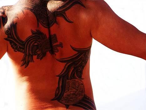 Aztec Warrior by Renee Oglesbee