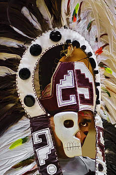 Wes and Dotty Weber - Azteca Mask