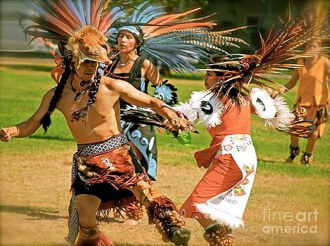 Gwyn Newcombe - Aztecan Ceremony 11