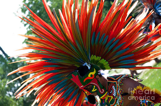 Gwyn Newcombe - Aztecan Ceremony 3