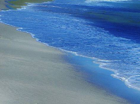 Azure Beach by Deborah Knolle