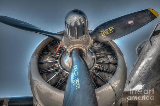Dale Powell - B-17G Propeller