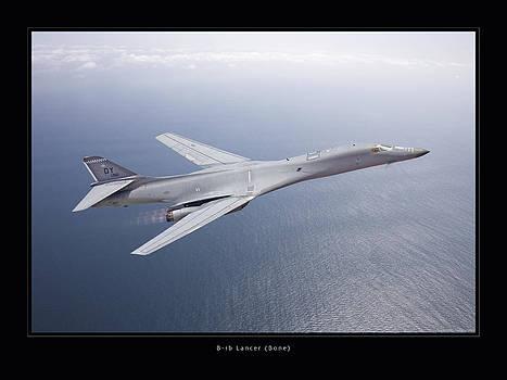 B-1B Lancer by Larry McManus
