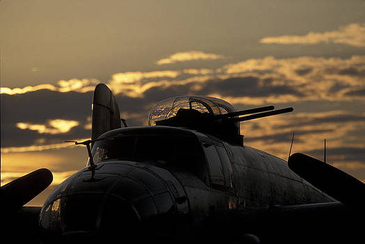John Clark - B-25 Sunset